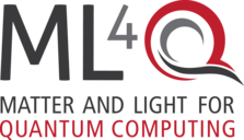 Logo of the Cluster of Excellence Matter and light for quantum computing (ML4Q)